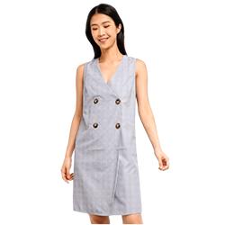 ZALORA BASICS Basic Double Breasted Dress