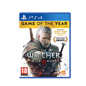 The Witcher 3 Game of the Year Edition (PS4)