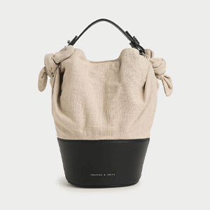 Summer 2020 Responsible Collection: Linen Bucket Bag