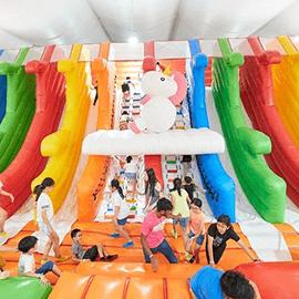 Mega Bounce Playground