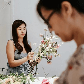 DIY Floral Arrangement Kit with Free Delivery