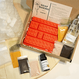 Soap Making DIY Craft Box with Free Shipping