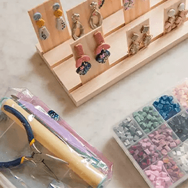 Singapore | Hands-On Clay Necklace & Earring Workshop Experience