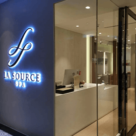 Massage and Facial at La Source Spa in Orchard Road