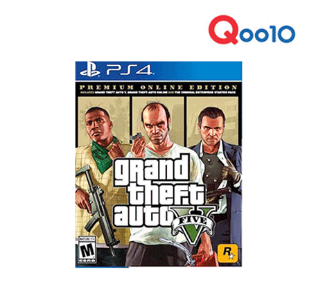 PS4 Grand Theft Auto V: Premium Online Edition