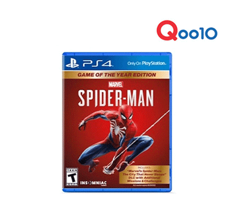 PS4 Game Of The Year Edition Spider Man
