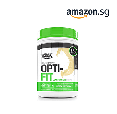 OPTIMUM NUTRITION Opti-Fit Lean Protein Shake, Meal Replacement Powder, Vanilla