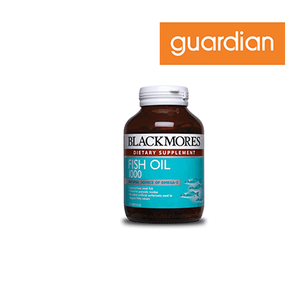 Blackmores Fish Oil 1000mg, 120 capsules