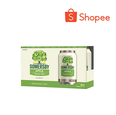 [Bundle of 3] Somersby Can Cider - Apple 320ml