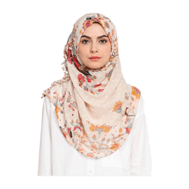 Bokitta Shiraz Pearl Voila Maxi Hijab