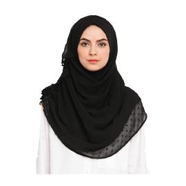 Bokitta Granite Voila Maxi Hijab