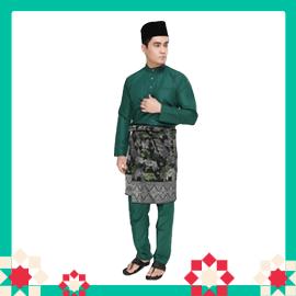 Amar Amran Baju Melayu Raja Sehari