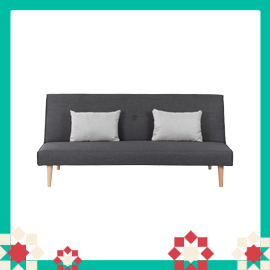 Andre Sofa Bed - Hailstorm