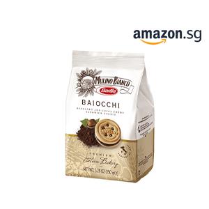 Mulino Bianco Baiocchi Hazelnut Chocolate Cookies (150g)