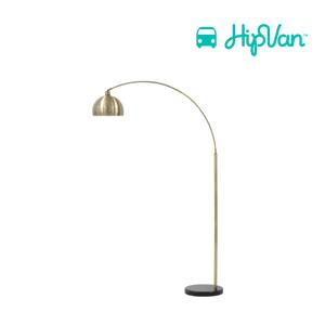 Olivia Floor Lamp - Brass