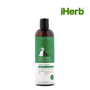 Kin+Kind, Flea and Tick, Dog & Cat Shampoo, 12 fl oz (354 ml)