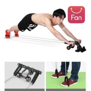 Abdominal Exercise Fitness Roller Exercising Abdominal Abdominal Pulley Fitness Equipment Household Men