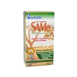 NutraLife, The Original SAM-e (S-Adenosyl-L-Methionine), 200 mg, 60 Enteric Coated Tablets