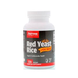 Jarrow Formulas, Red Yeast Rice + Co-Q10, 120 Veggie Caps