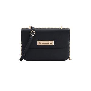 Boxy Leather Shoulder Bag