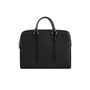 Leather Briefcase with Lock