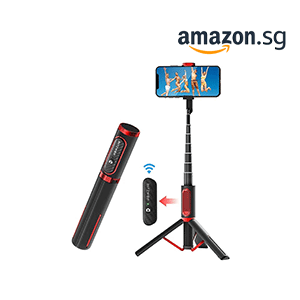 Selfie Stick Tripod with Remote