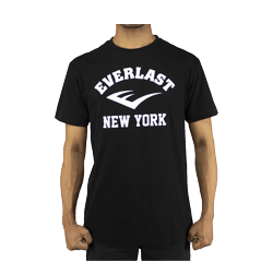 Everlast Mens Classic New York Printed Tee (Black)