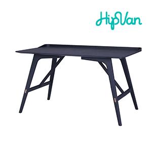 Fidel Study Table - Black