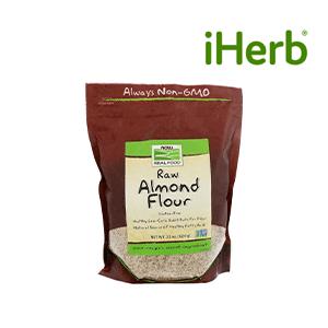 NowFoods Raw Almond Flour (624g)