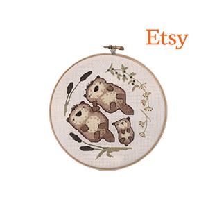 Otter Cross Stitch Pattern