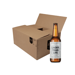 The General Brewing Co Lager Than Life Case of 24