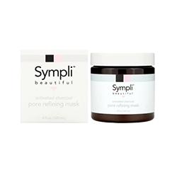 Sympli Beautiful, Activated Charcoal Pore Refining Mask, 4 fl oz (120 ml)