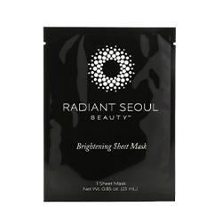 Radiant Seoul, Brightening Sheet Mask, 1 Sheet Mask, 0.85 oz (25 ml)