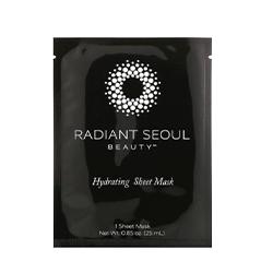 Radiant Seoul, Hydrating Sheet Mask, 1 Sheet Mask, 0.85 oz (25 ml)