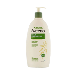Aveeno, Daily Moisturizing Lotion, Fragrance Free, 18 fl oz (532 ml)