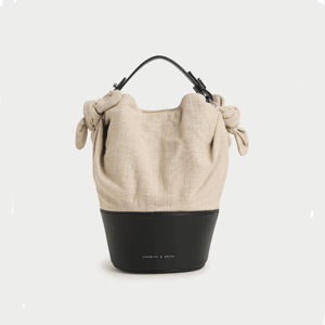Summer 2020 Responsible Collection: Linen Bucket Bag