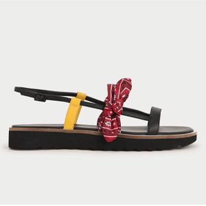 Summer 2020 Responsible Collection: Tie Flatforms